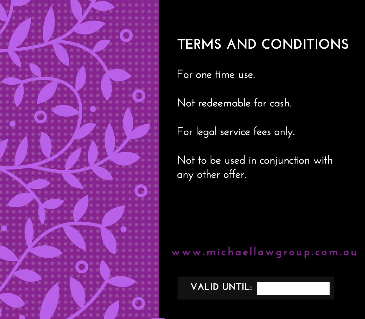 Legal tips for Australian promotions